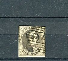 Belgio/Belgium 1849-50 effigie re leopoldo I in ovale  usato