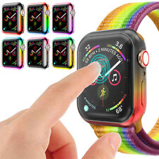For Apple Watch Series 5 4 iWatch 40/44mm TPU Case Cover Bumper Screen Protector
