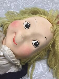 Vintage Eloise Doll With Outfit Great Condition