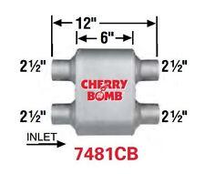 Cherry Bomb Extreme Muffler 7481cb 4 Inch X 9 34 Inch Oval Dualdual New