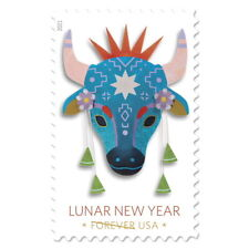 Usps New Lunar New Year: Year of the Ox Pane of 20