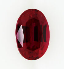 2.21ct!! NATURAL RUBY EXPERTLY FACETED IN GERMANY +CERTIFICATE INCLUDED