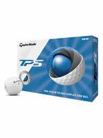TaylorMade TP5 19 Golf Balls - 1 Dozen White -  Mens