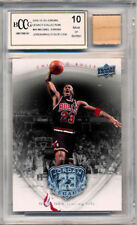2009-10 UD MJ Legacy #46 MICHAEL JORDAN MEMORABILIA (HOF) Bulls MINT BCCG 10