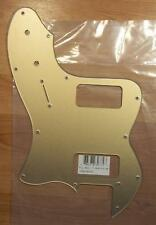 Fender® Thinline Super Deluxe Telecaster Pickguard~Gold~0080385000~Brand New