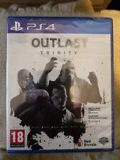 Outlast Trinity Italiano PS4 NUOVO SIGILLATO gioco horror