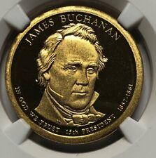 2010 S NGC PF69 Ultra Cameo ~ James Buchanan 15th US President Proof Dollar $1
