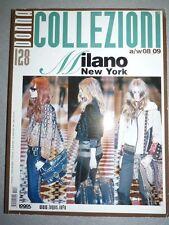 Magazine mode fashion COLLEZIONI DONNA #128 pret à porter autumn winter 2008