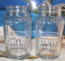 4 X Southern Comfort Jar Glasses Brand New Unused