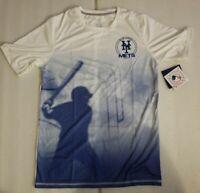 NWT GEN2 MLB Genuine Merchandise New York Mets Kids Active Wear T-shirt Size XL