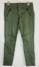 American Eagle Womens 4 Jegging Ankle Jeans Size 8 Regular Green Super Stretch