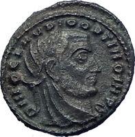 Claudius II 317AD Deification under Constantine I Ancient Roman Coin  i73190