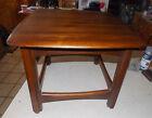 Mid Century Walnut End Table / Side Table