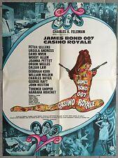 Affiche CASINO ROYALE Peter Sellers JAMES BOND Niven URSULA ANDRESS 60x80cm 1967