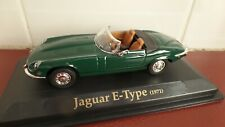 1971 Jaguar E-Type V12 Roadster in Green - 1:43 scale
