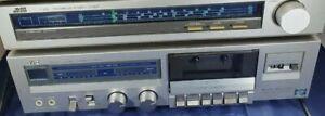 Tuner e piastra cassette Jvc Vintage prezzo ribassato