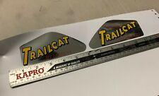 Manco TRAIL CAT TANK DECALS mini bike minibike decal sticker wards gilson