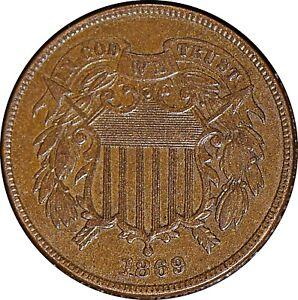 1869 2 Cent