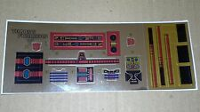 A Transformers premium quality replacement sticker/decal sheet for G1 Ironhide