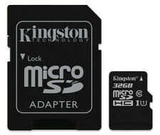 32GB Kingston micro SD HC Memory Card For Samsung ST200F Digital Camera
