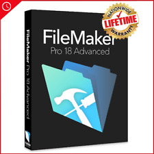 FileMaker Pro 18 advanced l LifeTime Liciencce l Fast Delivery