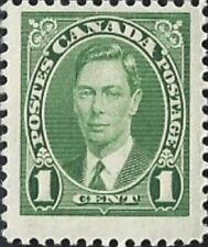 Canada    # 231     King George VI  Brand New Issue 1937 Pristine Original Gum