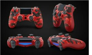 DualShock Wireless PS4 Controller: Red Camo  For PlayStation 4