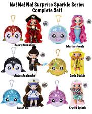 Na! Na! Na! Surprise Sparkle Series Complete Set of 6 Fashion Dolls *SHIPS NOW*