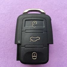 VW Passat Touran Tiguan Jetta Toureg 3 Button Flip Remote Key Fob Case