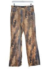 Trussardi Womens Jeans W28 L30 Multi Cotton