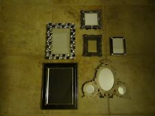 LOT OF 6 BEAUTIFUL PICTURE FRAMES **SO PRETTY**