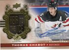THOMAS CHABOT 17/18 UD TEAM CANADA / CANADIAN TIRE HEIR TO THE ICE SP AUTO