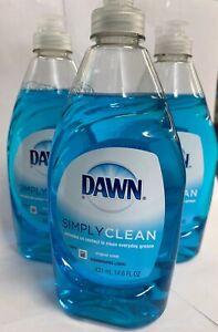 Dawn Non Concentrated Original Dishwashing Liquid, 14.6 Fluid Ounce 3 per Order