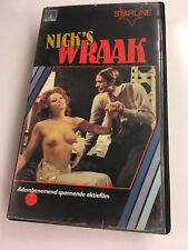 Nick the Sting aka Gli amici di Nick Hezard / Dutch VHS