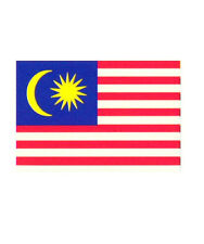 Malaysia Large Flag 5 x 3 FT - 100% Polyester With Eyelets National Country