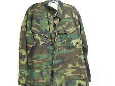 US MILITARY VIETNAM ERA USMC SLANT POCKET JACKET 1970 EARLY CAMO PATTERN       2