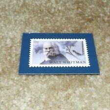 Walt Whitman Bicentennial of his birth - Magnet Of The Us Stamp Released in 2019