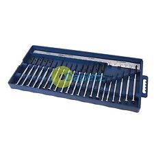 22Pce Jewellers Precision Screwdriver Set For Accurate & Detailed Work