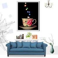 Teacup Drink Bokeh Canvas Poster Print Art Picture Living Room Home Wall Decor