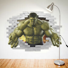 Marvel The Avengers Hulk Wall Sticker Decal Removable Home Decor Kids Art Mural