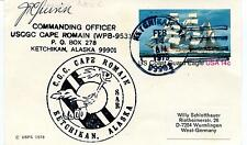 1979 USCGC Cape Romain Ketchikan Alaska SAR Polar Antarctic Cover SIGNED