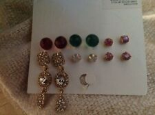 H and M Earrings, 6 pairs
