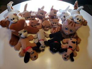Pound Puppies & Pound Purries Vintage Lot Of 15