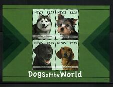Nevis 2011,  Animals ,  Dogs of the world ,  MNH
