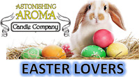 EASTER LOVERS COLLECTION Soy Wax Clamshell Break Away tart melt wickless candle