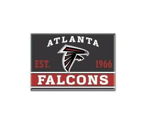 Atlanta Falcons Photo Magnet with Logo, NFL Football, Team Gründungsjahr