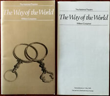 The Way of the World by William Congreve National Theatre Programme 1969 + Inser