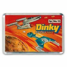 RETRO  DINKY TOYS -  STAR TREK ENTERPRISE / KLINGON SHIP -  JUMBO FRIDGE MAGNET