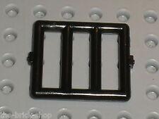 Grille LEGO black bar ref 6016 / Set 6598 6765 6484 4557 6636 4541 6496 5848 ...