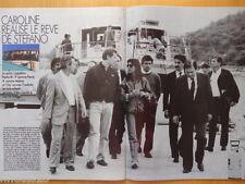 CAROLINE DE MONACO Coupure de presse 4 pages PARIS MATCH 1991 - French Clippings